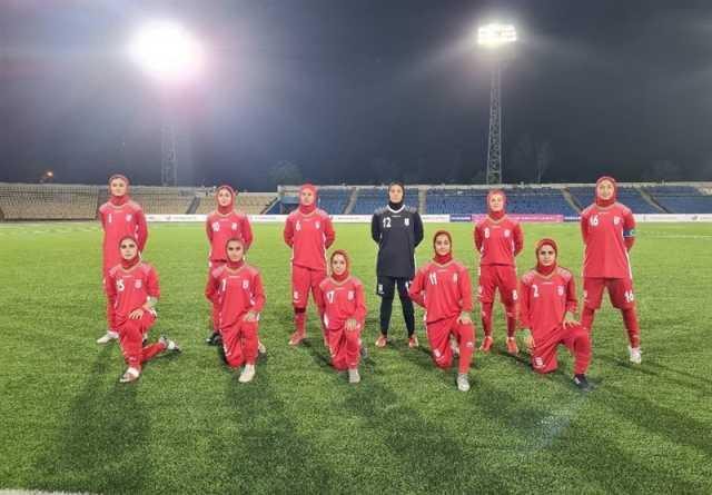 برتری شیرین تیم دختران فوتبال ایران مقابل تاجیکها