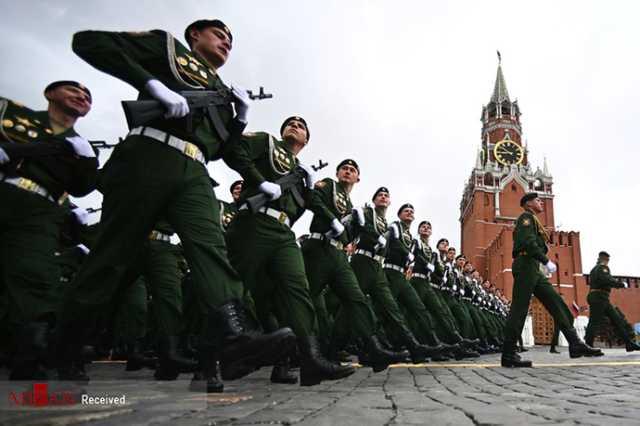 رژه نظامی سالگرد پیروزی در جنگ جهانی دوم - روسیه