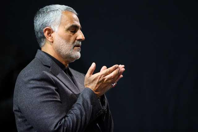 دعای ویژه حاج قاسم سلیمانی برای رهبر انقلاب +فیلم