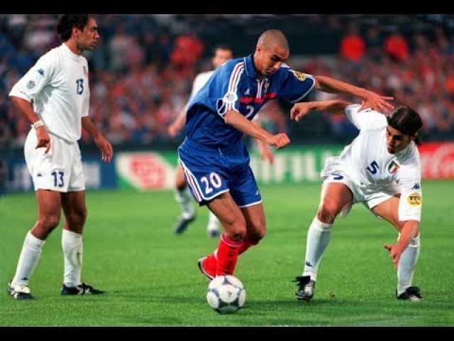 فرانسه ۲_۱ ایتالیا؛ فینال خاطرهانگیز یورو ۲۰۰۰ +فیلم