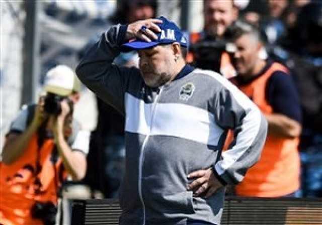 خوشحالی جالب مارادونا پس از پیروزی این هفته تیمش + فیلم