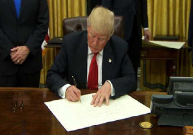 صدور دو فرمانی اجرایی جدید از سوی ترامپ