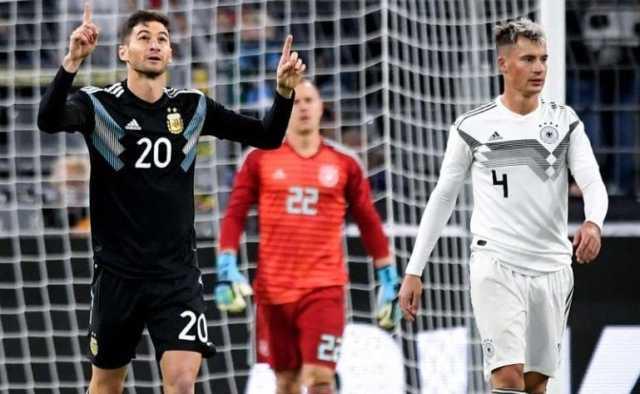 تساوی آلمان و آرژانتین در دیداری دوستانه