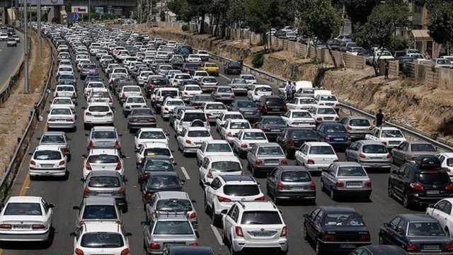 آخرین وضعیت ترافیکی آزادراه تهران_قم