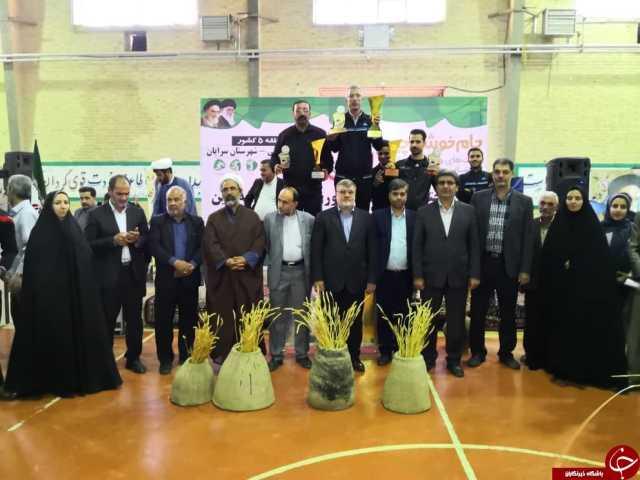 کرمان نایب قهرمان مسابقات منطقهای جام خوشه چین