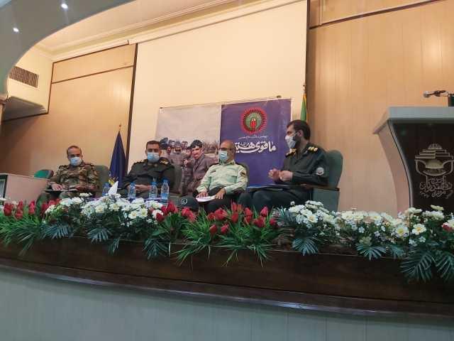 رهبری به صورت زنده از شبکه های تلویزیون سخنرانی می کنند/ برنامه های هفته دفاع مقدس در کرمان