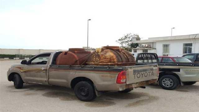هزار و ۲۰۰ لیتر سوخت قاچاق در مهاباد کشف شد