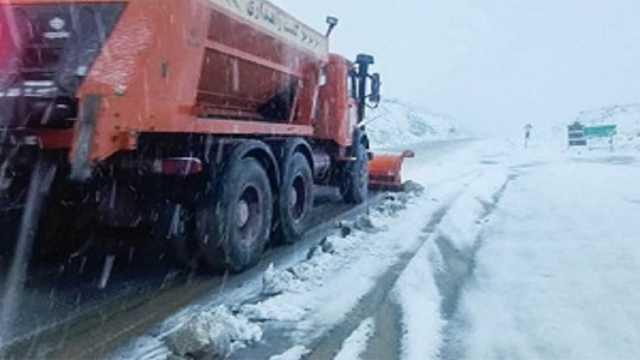 برف روبی بیش از ۱۰ هزار کیلومتر جاده در استان کردستان