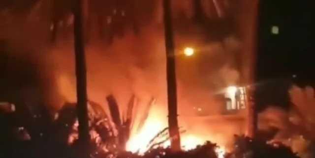 حوادث آتشنشانی در شیراز/ از اطفای آتش در موزه نارنجستان قوام تا ...