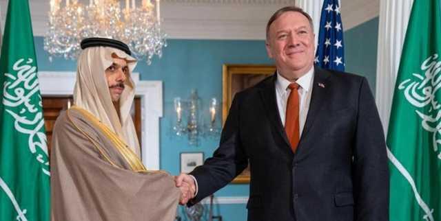 گفتوگوی پامپئو با همتای سعودی درباره توافقهای سازش