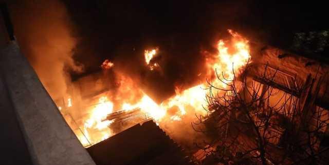 آتشسوزی و انفجار در شهرک صنعتی اردبیل با 2 فوتی