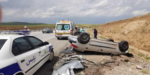 واژگونی خودرو در محور ماهان کرمان 2 کشته بر جای گذاشت