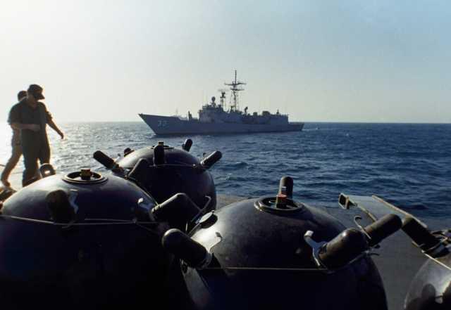 ادعای عربستان درباره انهدام مین ساخت ایران در دریای سرخ