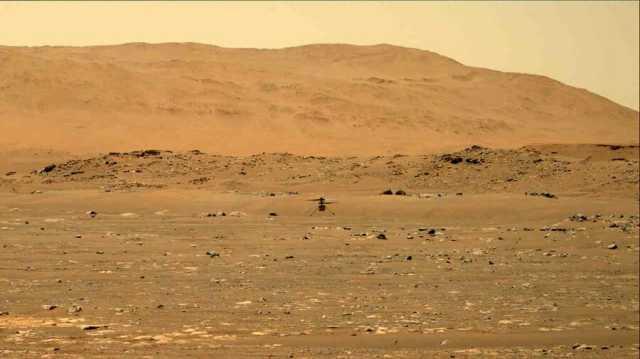 نخستین ویدئوی با وضوح بالا از پرواز بالگرد «نبوغ» در مریخ