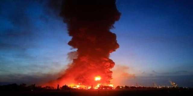 ویدئو| انفجار هولناک پمپ بنزین در روسیه