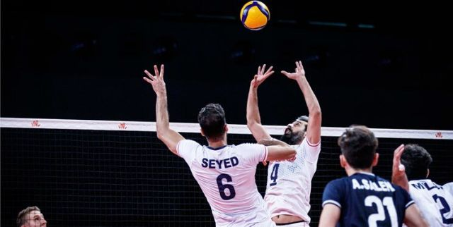 ایران ۲ - آلمان ۳ | شکست نزدیک والیبال ایران برابر ژرمن ها