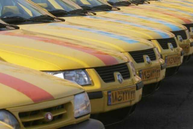 دو هزار تاکسی با استاندارد یورو ۴ شماره گذاری و تحویل شده است