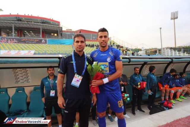بازیکن استقلال از سایپا تشکر کرد