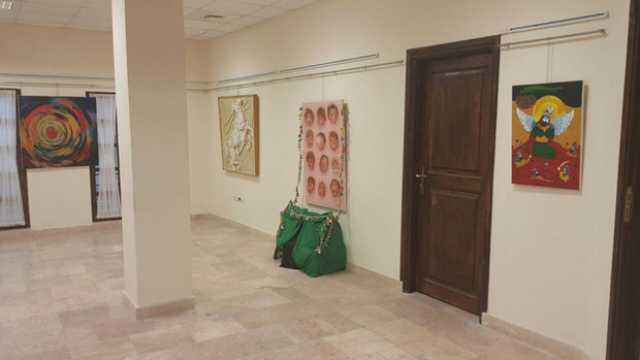 نمایشگاه «روضه رضوان»در نوش آباد آران و بیدگل برپا شد