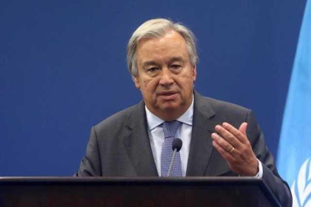 گوترش: تصمیمگیری درباره قطعنامه تحریم ایران با شورای امنیت است