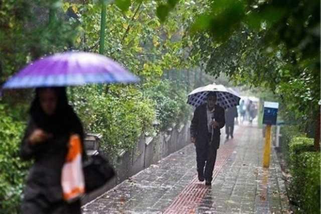 ورود موج بارشی از یکشنبه به کشور/تهران امشب سردتر می شود