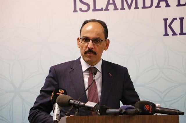 گفتگوی تلفنی سخنگوی ریاست جمهوری ترکیه با مشاور امنیت ملی آمریکا