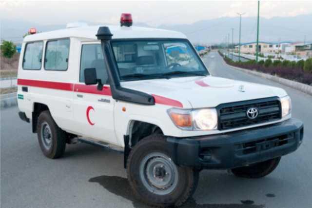 ۴۵ آمبولانس امداد و نجات به کشور عراق اعزام شد