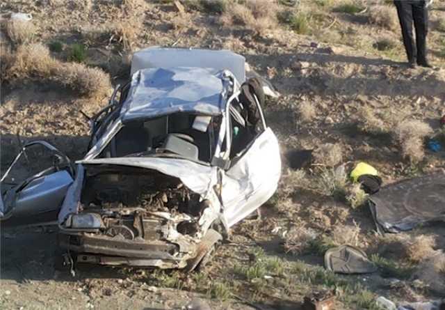 سقوط پراید به دره ۵ کشته و زخمی بر جا گذاشت