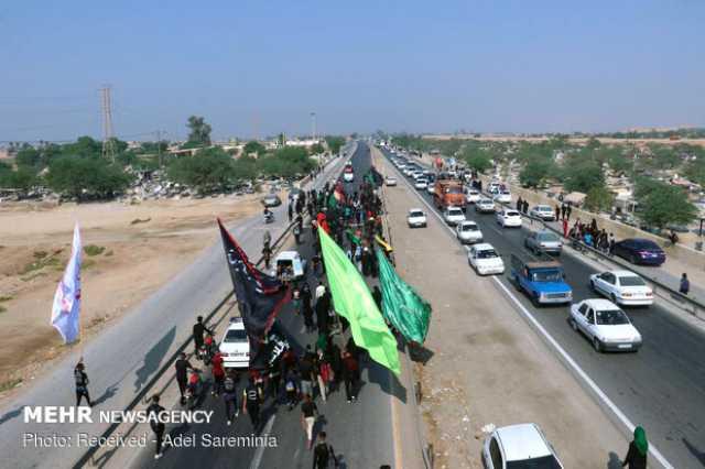 افزایش ۲۶۰ درصدی تردد خودروها در جاده های خوزستان