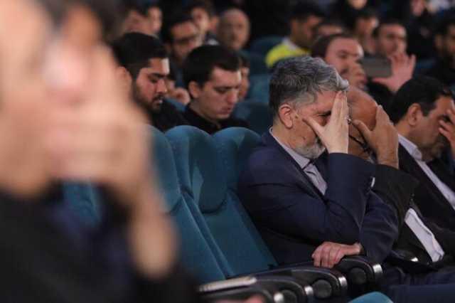 وزیر فرهنگ و ارشاد اسلامی در شب شعر عاشورا حضور یافت