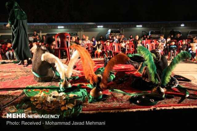 چهاردهمین سوگواره ملی تعزیه عاشورائیان در لامرد برگزار می شود