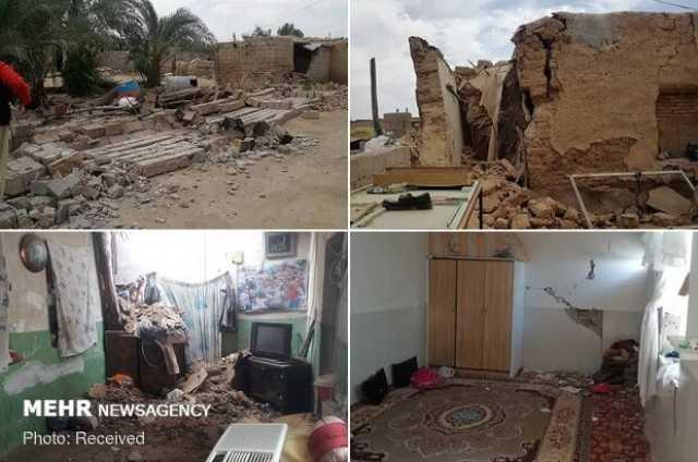 منازل خسارت دیده در زلزله گناوه بهتر از گذشته ساخته میشوند
