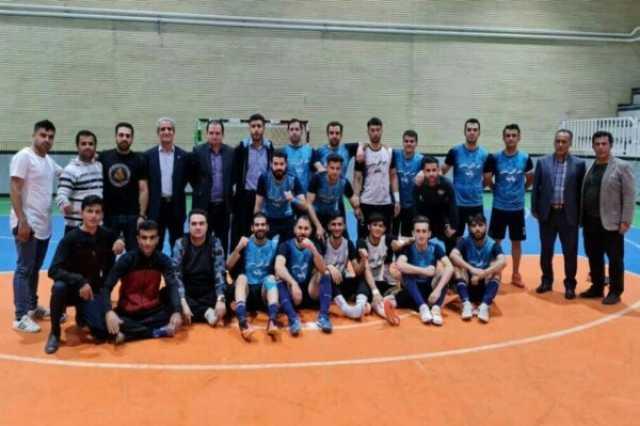صعود نماینده کردستان به مرحله دوم لیگ مناطق فوتسال ایران