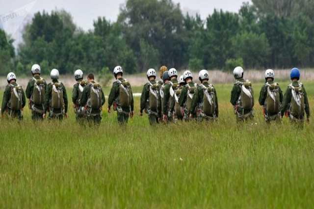 ۸۰۰ چترباز نظامی آمریکا در نزدیکی مرزهای روسیه فرود آمدند