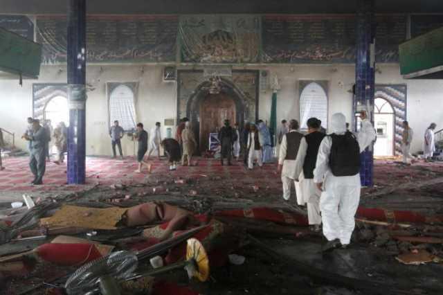 داعش مسئولیت انفجار در مسجد «حاجی بخشی» کابل را برعهده گرفت