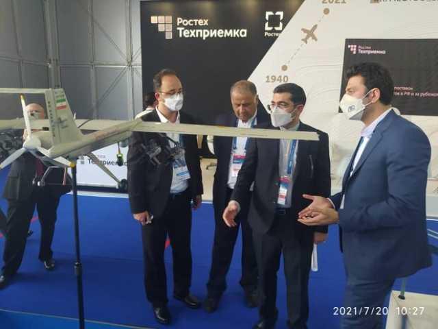 نمایشگاه هوا فضای روسیه آغاز به کارکرد/ محصولات ایران ارائه شد