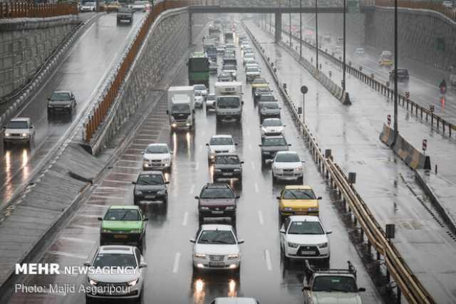 وضعیت ترافیکی محورهای کشور