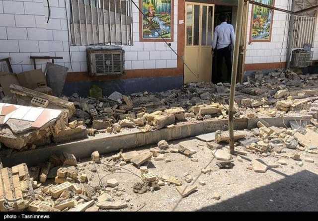 اختصاصی| زلزله ۴.۴ریشتری شویشه هیچگونه خسارت مالی و جانی نداشت