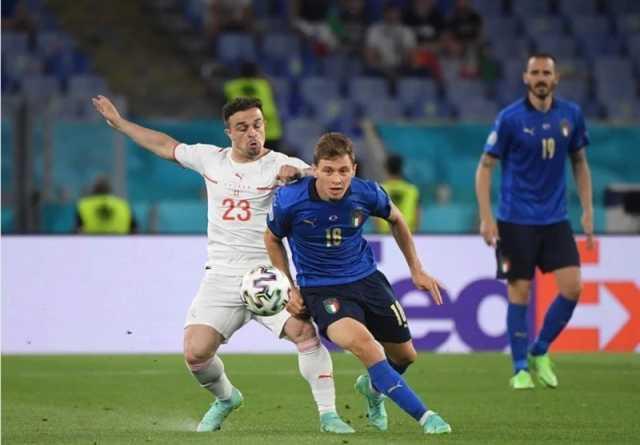 یورو ۲۰۲۰  برتری ایتالیا مقابل سوئیس وقتی آمار مساوی بود