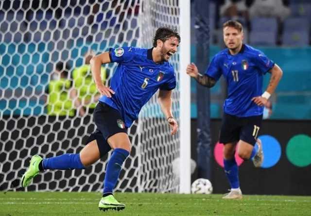یورو ۲۰۲۰ ایتالیا - سوئیس؛ لوکاتلی بهترین مرد میدان شد + عکس