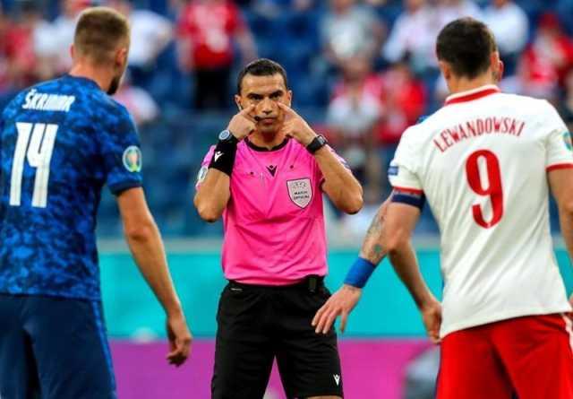 یورو ۲۰۲۰  هاتگان داور بازی ایتالیا - ولز شد