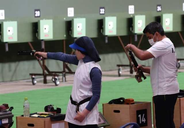 المپیک ۲۰۲۰ توکیو  فروغی نفر اول مردان در نیمه نهایی میکس تپانچه/ در حسرت تکرار عملکرد رستمیان در انفرادی