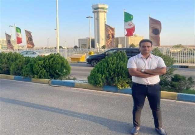 المپیک توکیو ۲۰۲۰  داور المپیکی کشتی تهران را به مقصد توکیو ترک کرد