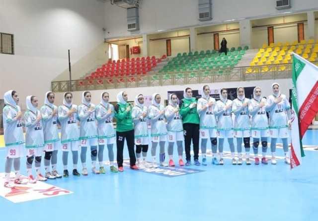 هندبال قهرمانی زنانان آسیا  تاریخسازی تیم ایران با نخستین صعود به مسابقات جهانی