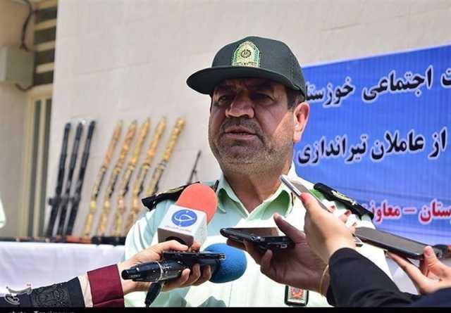 ۱۵۷ قبضه سلاح غیرمجاز در خوزستان کشف شد