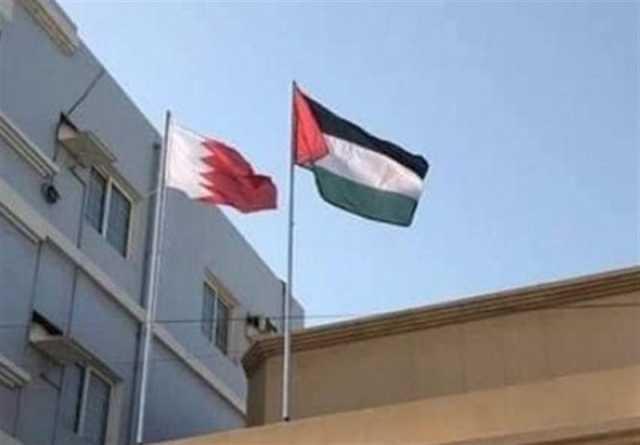 ادامه مخالفت بحرینیها با کنفرانس منامه؛ نصب پرچم فلسطین بر بالای منازل