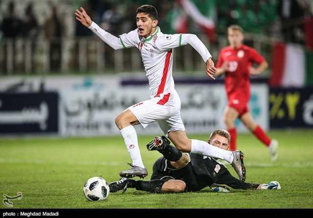 مقدماتی فوتبال جوانان آسیا| توقف ایران مقابل نپال در نیمه نخست