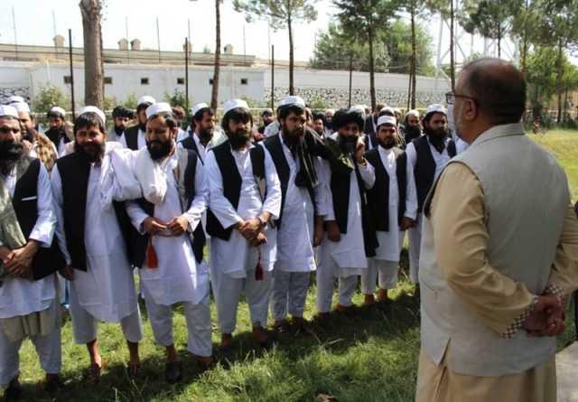 زندانیان آزاد شده خارج از فهرست طالبان به ۳۱۷ نفر رسید