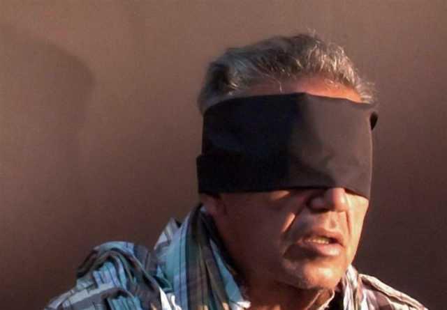 اولین تصویر از جمشید شارمهد سرکرده گروهک تندر پس از بازداشت منتشر شد