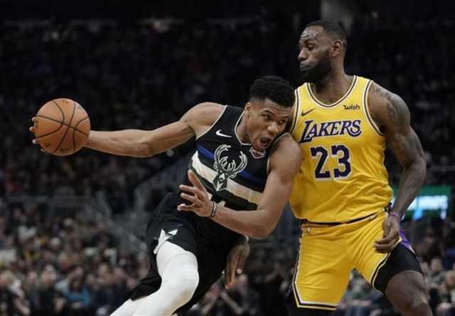 تیمهای منتخب NBA معرفی شدند/ جیمز رکورد زد